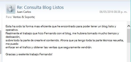 testimonio blog adsense